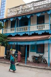 Pondicherry - Kolonialhaus